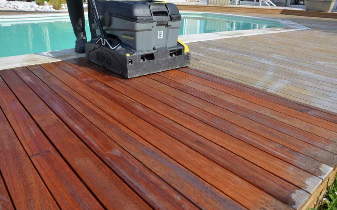 Entretenir sa terrasse en bois avant les beaux jours