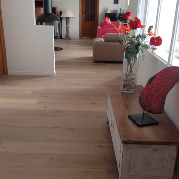 PARQUET  - CHENE  NATUREL- MARSILLY (17)